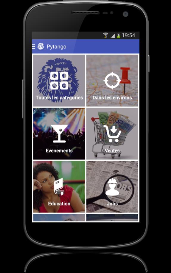 PYTANGO - Le réseau d'annonces et d'informations communautaires